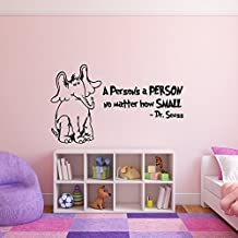 Horton Hears a Who Wall Decal with Lettering -