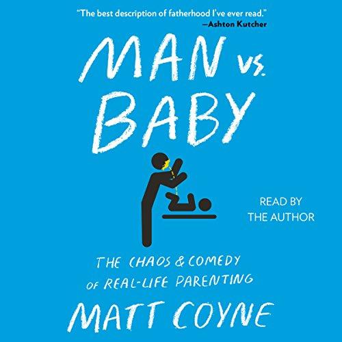 Man vs. Baby audiobook cover art