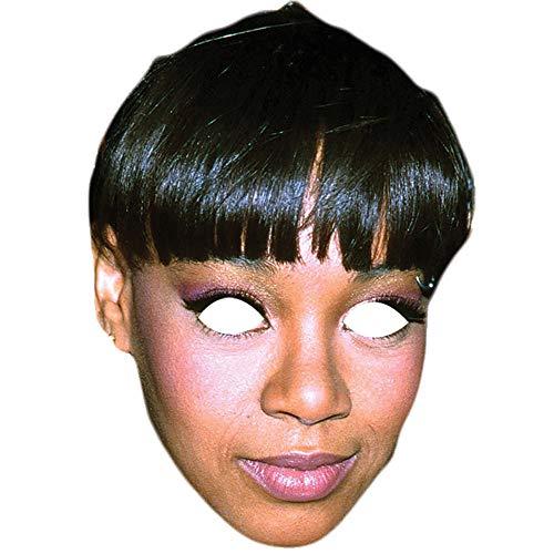 Lord Fox Lisa Maske für Partys mit linkem Auge