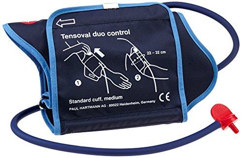 Hartmann Tensoval Duo Control II - Tensiómetro automático para medición en el brazo (22-32 cm, tamaño grande) Negro (1623683)