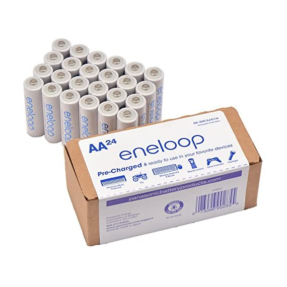 Panasonic-BK-3MCA24CA-eneloop-AA-2100-Cycle-Ni-MH-Pre-Charged-Rechargeable-Batteries-24-Pack