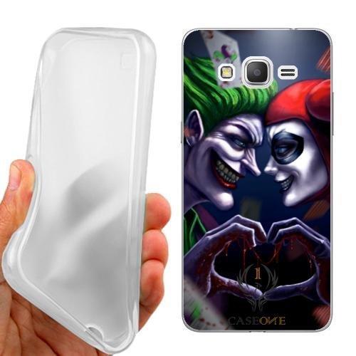 Custodia Cover Case Joker Cuore per Samsung Galaxy Grand Prime G530H