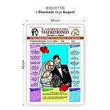 Magic In The Moonlight Biglietto Il Giornale degli Auguri Matrimonio
