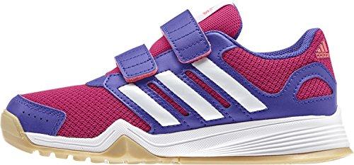 Adidas Kinder Hallenschuhe Sportschuhe interplay CF K Mädchen/Jungen, Schuhgröße:28;Farbe:Pink