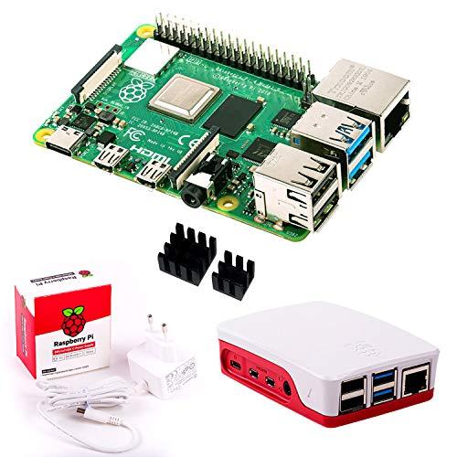 InnoConnect Raspberry Pi 4 (4GB RAM) S Bundle, weiß