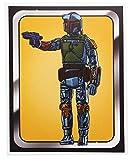 InCogneato Star Wars Boba Fett Figure 8x10 Art Print by Russ Moore (Nerd Block Exclusive)