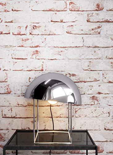 Steintapete Vlies Weiß Rot Edel,  3D Optik für Wohnzimmer, Schlafzimmer, Flur oder Küche, inklusive der Newroom-Tapezier-Profi-Broschüre - 3