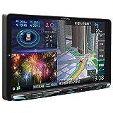 ケンウッド カーナビ 彩速ナビ 9型 MDV-M907HDL 専用ドラレコ連携 無料地図更新/フルセグ/Bluetooth/Wi-Fi/Android&iPhone対応/DVD/SD/USB/HDMI/ハイレゾ/VICS/タッチパネル/HDパネル