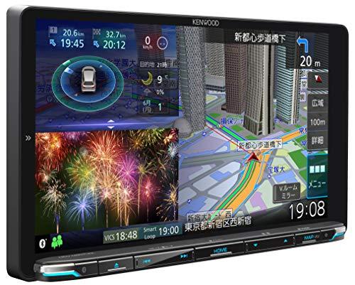 KENWOOD(ケンウッド) カーナビ 彩速ナビ 9型 MDV-M907HDL 専用ドラレコ連携 無料地図更新/フルセグ/Bluetooth/Wi-Fi/Android&iPhone対応/DVD/SD/USB/HDMI/ハイレゾ/VICS/タッチパネル/HDパネル