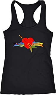Tom Petty Tank Top Vest Tom Petty and The Heartbreakers 60s 70s Classic Rock Band Women's Music Racerback Tank Tops