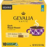 Gevalia Dark Royal Roast K-Cup Coffee Pods (72 Pods, 4 Packs of 18)