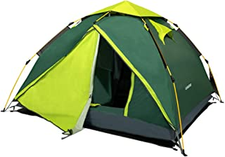 Lohastour Camping Tent Automatic Backpacking Tent - Waterproof 2-3 Person Instant Pop Up Tent 3 Season for Hiking Travel Adventure Beach
