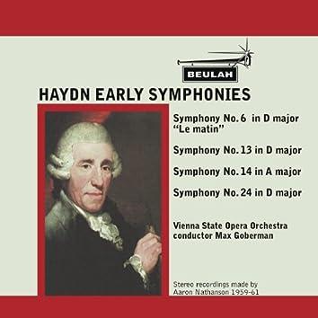 Haydn: Early Symphonies