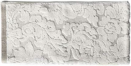 Homes r us Hand Towel, Beige/White - 50 x 100 cms