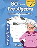 Pre-Algebra: Order of Operations (PEMDAS): Pre-Algebra Practice Problems with Step-by-Step Answers, Middle School Math Workbook - 9th grade - Ages ... – Easy Learning Worksheets - With Answer Key