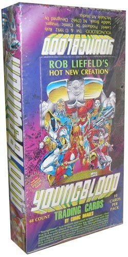 Youngblood Comic Book Images Trading Cards - 48 packs by comic imaages