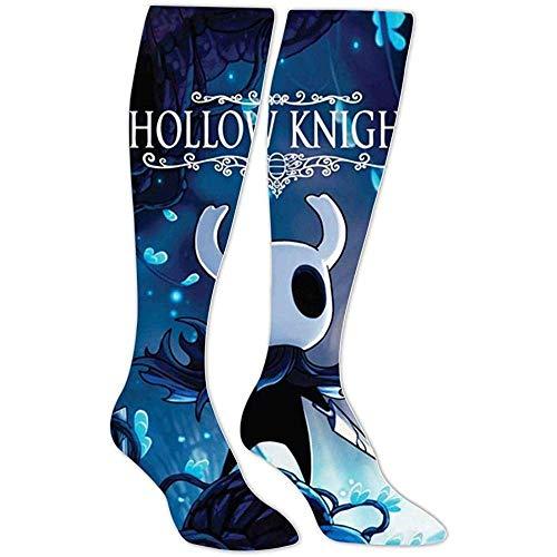 yantaiyu-sock Calcetín Borroso Calcetines Deportivos Grim-M Fight Ho-Llow Knight Calcetines Hasta La Rodilla Estampados En 3D Unisex Calcetines Deportivos De Algodón