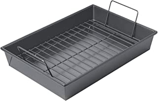 Best non stick roasting pan with rack Reviews