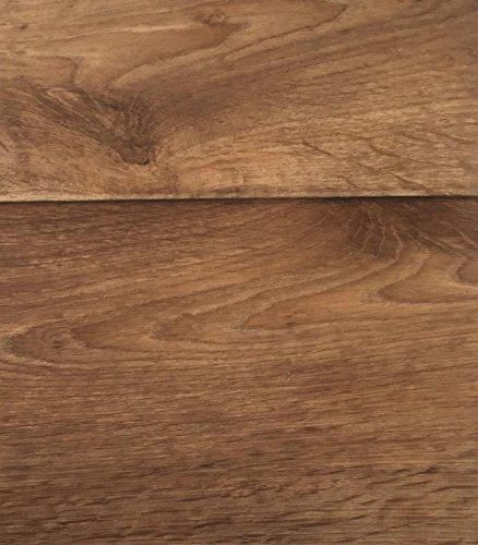 PVC Vinyl-Bodenbelag in Holz Optik Birne | CV PVC-Belag verfügbar in der Breite 200 cm & Länge 500 cm | CV-Boden wird in benötigter Größe als Meterware geliefert & trittschalldämmend