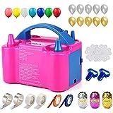 Best Balloon Pumps - 147 Pcs Balloon Pump KINBON Electric Portable Dual Review