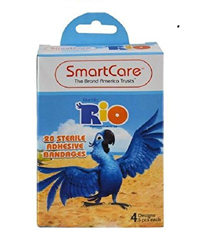 RIO Sterile Bandages with 20 Sterile Adhesive Bandages - 2020 Pandemic Care Items Make Great Stocking Stuffers!