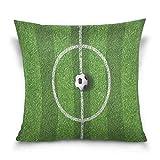 Funda de almohada decorativa cuadrada para sofá, cama de 40,6 x 40,6 cm