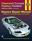 Pontiac Firebird A/C Expansion Valves & Orifice Tubes - Chevrolet Camaro & Pontiac Firebird 1993 thru 2002 Haynes Repair Manual: 1993 thru 2002