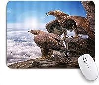 マウスパッド Mouse Pad Ears Sad Basset Hound Dog Sit on Floor Adorable Mousepad Non-Slip Rubber Base for Computers Laptop