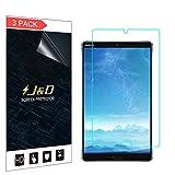 JundD Kompatibel für 3er Set Huawei MediaPad M5 8.4 inch Bildschirm Schutzfolie, [Ganze Deckung] Premium HD-Clear Schutzfolie für Huawei MediaPad M5 8.4 inch