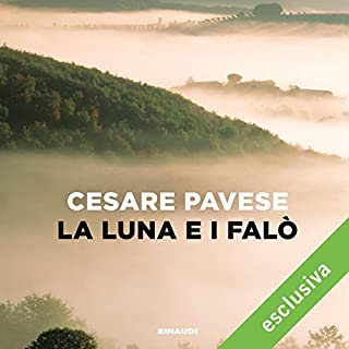 La luna e i falò audiobook cover art