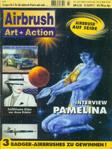 AIRBRUSH Art + Action, 4 Hefte [Heft 02/98=Nr. 19, Heft 03/98=Nr. 20, Heft 04/98=Nr. 21, Heft 05/98=Nr. 22, ]