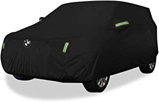 JINLINE Car Cover SUV Thick Oxford Cloth Sun Protection Rainproof Warm Car Cover for X2 Models Car Cover (Size : Oxford Cloth - Built-in lint)
