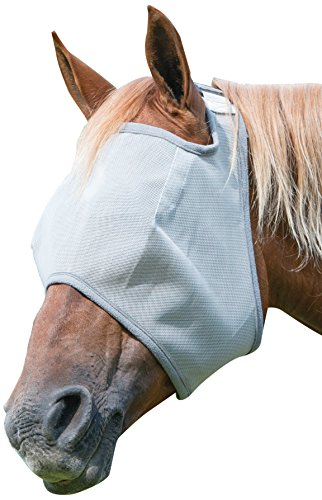 Weaver Leather Double Closure Open Ear Fly Mask with Xtended Life Closure System
