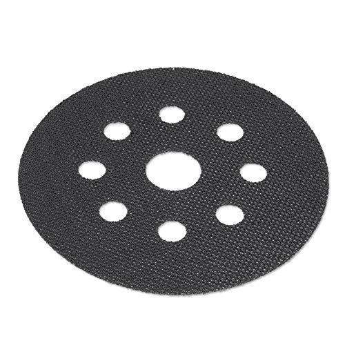 Proteggi Platorello con Velcro Ø 125mm con 8-Fori - per Levigatrice Lucidatrice - Dischi Abrasivi - DFS