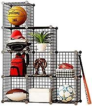 Metal Wire Storage Cubes, DIY Closet Organization System, Bookcase, Cabinet