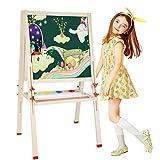 CL& Kinder-Zeichenbrett - doppelseitig magnetisch kleine Wandtafel fr Baby-Wandbemalung - Zwei Gren optional Staffeleien (gre : 80-148cm)