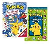 Nelson Pokémon: Mi entrenador diario (libro de bolsillo) + guía definitiva: el manual oficial Pokémon a partir de 5 años.