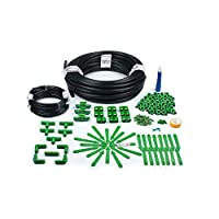 Easy installation Saves water by 70 percent Reduced pest attack Hassle free plant watering 16mm main supply line pipe-25 meters 4mm feeder line pipe-25 meters Drip emitters-50 numbers Feeder to main supply line connectors-50 numbers Emitter Stakes-50...