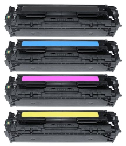 4X Eurotone Toner Cartridge 716 Set für Canon LBP 5050 N 5050N / MF 8030 8040 8050 8080 - EP 716BK 716C 716M 716Y kompatibel