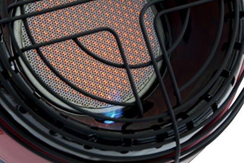 Mr. Heater Little Buddy Gasheizung inkl. Adapter für Gaskartuschen mit 7/16-Gewinde; - 10