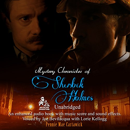 Mystery Chronicles of Sherlock Holmes audiobook cover art