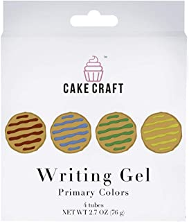 Cake Craft Variety Pack Writing Gel 2.68 Ounces