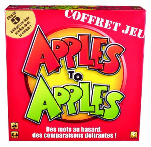 Mattel - N7823 - Jeu d'ambiance - Apples to Apples