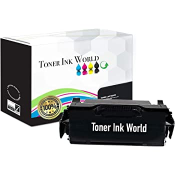 High Yield MICR Inksters Remanufactured Toner Cartridge Replacement for Lexmark T640//T642//T644//X642//X644//X646 21K Pages