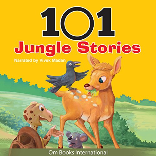 101 Jungle Stories audiobook cover art