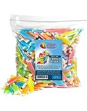 Nik-L-Nip Wax Bottles Candy Drinks, 3 LB Bulk Candy 輸入品