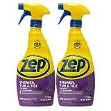 Zep Shower Tub and Tile Cleaner 32 Ounce ZUSTT32PF (Pack of 2) Breaks...