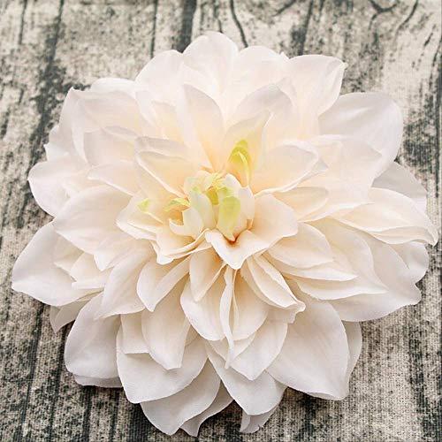 NIMEYX 10 unids/Lote Gran Dahlia Artificial Peonía Cabeza de Flor 15 cm Flor de la Boda Flores de...