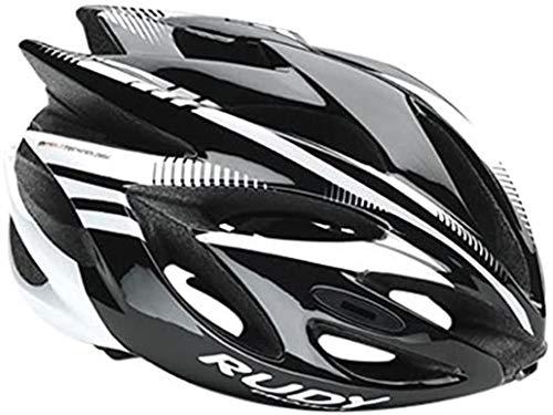 RUDY PROJECT Rush Casco, Black/White Shiny, L