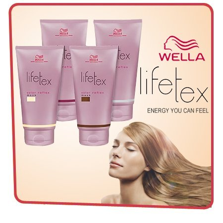 Wella lifetex color, reflex mask braun, 150 ml